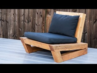 How to make an outdoor chair (Genius easy store design)