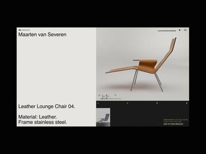 M. Editorial Website Product Slider Animation