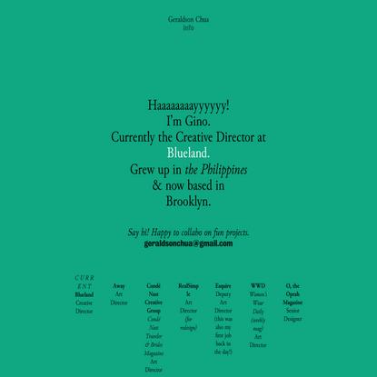 Info — ginochua
