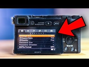 Sony a6000 - Best Settings for Photography in 2020 // Beginner Photo Settings Guide