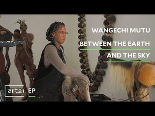"""Wangechi Mutu: Between the Earth and the Sky 