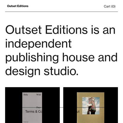 Outset Editions