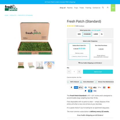 Fresh Patch (Standard)