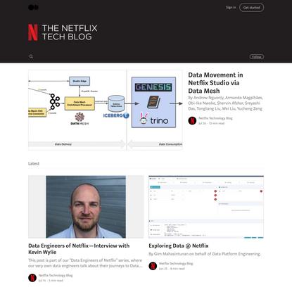 Netflix TechBlog
