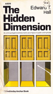 ⊙ The Hidden Dimension by Edward T. Hall