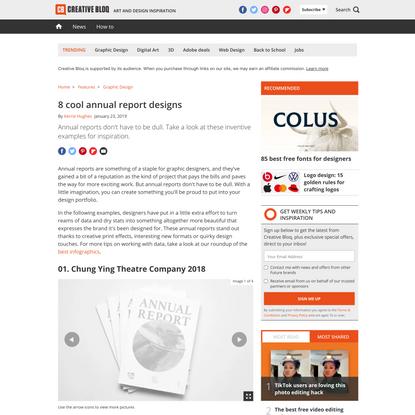 15 imaginative annual report designs