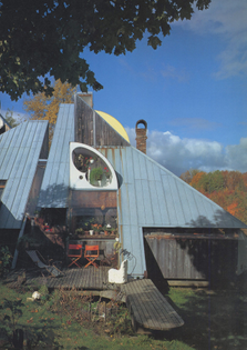 David Sellers, Tack House, 1965-81, Prickly Mountain, Warren, Vermont