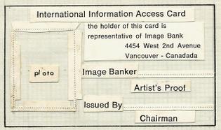 International Information Access Card