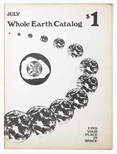 Whole Earth Catalog - July 1970 Cover