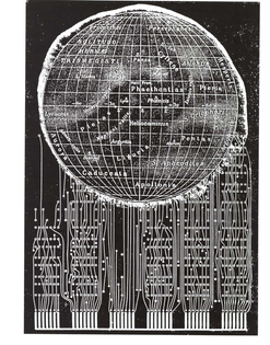 Carol Stetser, page from Currents (1992)