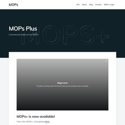 MOPs Plus – MOPs