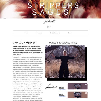 Eve Lady Apples | Strippers & Sages