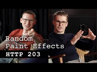 Random paint effects - HTTP 203