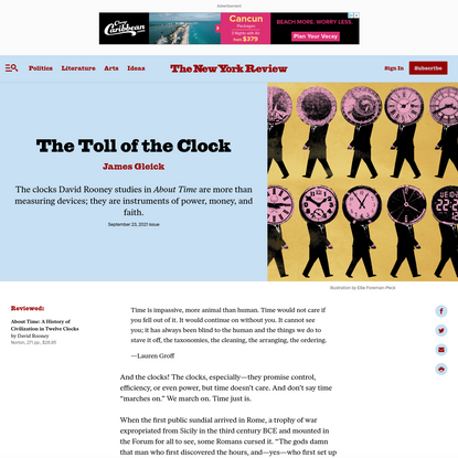 The Toll of the Clock