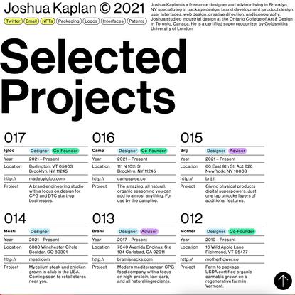 Joshua Kaplan © 2021