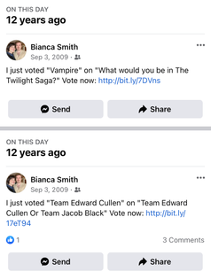 What would you be in the Twilight Saga?