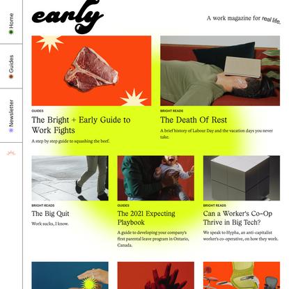 Early Magazine