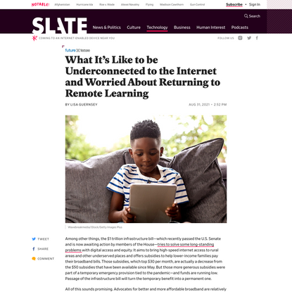 What It's Like to be Underconnected to the Internet and Worried About Returning to Remote Learning
