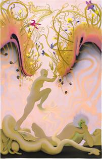 Inka Essenhigh. Electric Underground, 2014