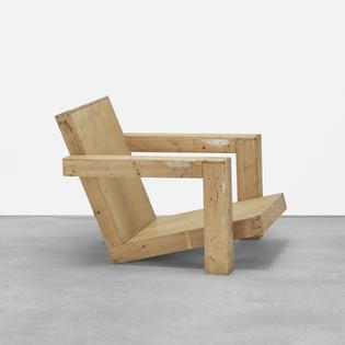 Gerrit Rietveld, Easy Chair (1940)