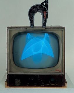 Nam June Paik, Magnet TV, 1965.