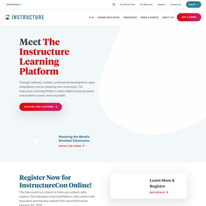 Instructure   Educational Software Development