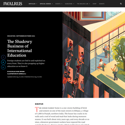 The Shadowy Business of International Education