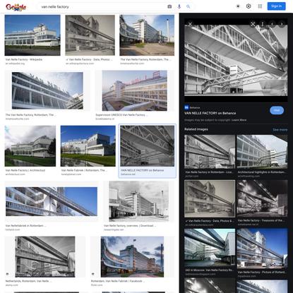 van nelle factory - Google Search