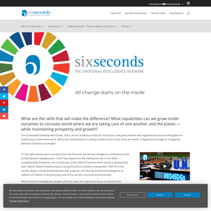 EQ and the Sustainable Development Goals