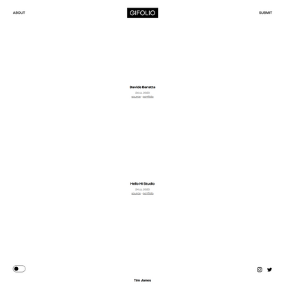 Gifolio - A collection of rapid fire design and creativity