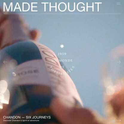 MADE THOUGHT – A creative studio for tomorrow