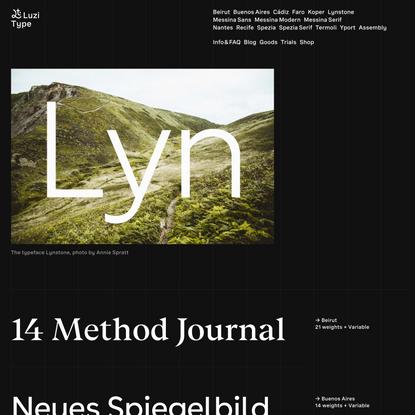 Luzi Type Foundry