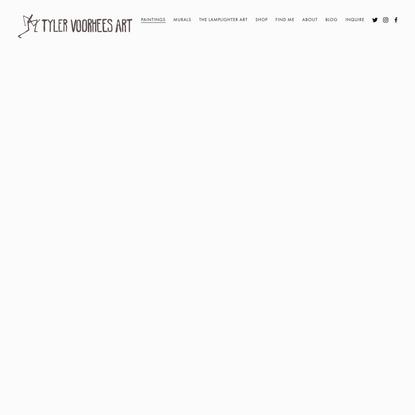 Jobs of Yesteryear 2020 — Tyler Voorhees Art
