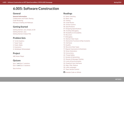 6.005: Software Construction