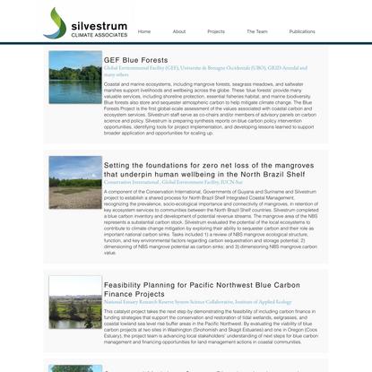 Blue Carbon   Silvestrum Climate Associates   United States