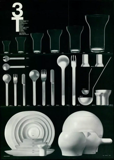 Roger Tallon, Set of tableware 3T, 1967