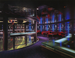Scorpio Discotheque on the Zenith ship by Celebrity Cruises (1992)