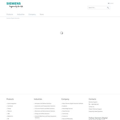 Siemens Digital Industries Software Online Store