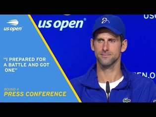 Novak Djokovic Press Conference | 2021 US Open Round 4