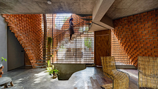 Pirouette House, Trivandrum, India (designed by Wallmakers, 2021)