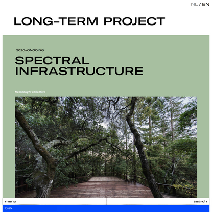 Spectral Infrastructure