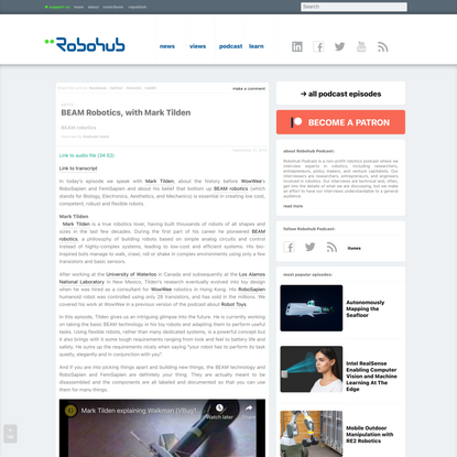 BEAM Robotics | Robohub