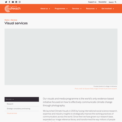 Visual services - Climate Outreach