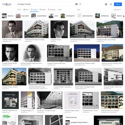 Giuseppe Terragni - Google Search