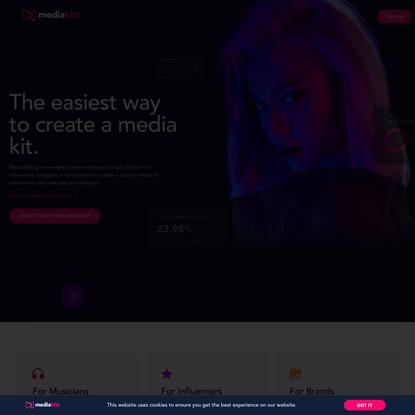 MediaKits – MediaKits