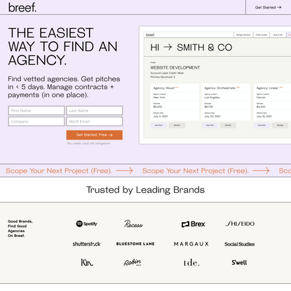 Breef | Outsource with the Best Agencies | Agency Outsourcing