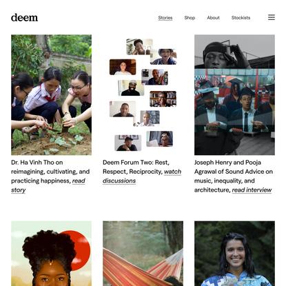 Stories — Deem