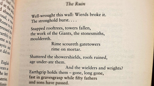 (from The First Poems in English, trans. Prof. Michael Alexander)