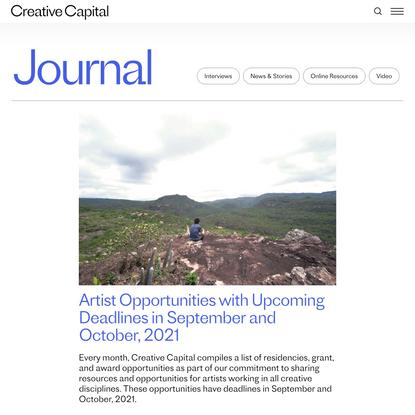 Journal | Creative Capital