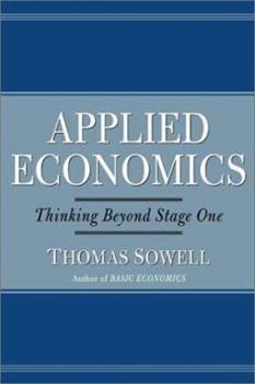 Applied Economics / Thomas Sowell